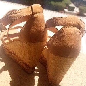 JustFab Shoes - Unique Espadrille Wedges